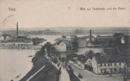 TF - ALLEMAGNE - TILSIT - Blick Auf Teichstrasse Und Die MEMEL - Unclassified