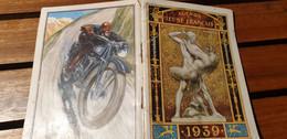 AGENDA DU JEUNE FRANCAIS /1939 /PREPARATION MILITAIRE/BREVET SPORTIF/GRADES/FRANCE DANS LE MONDE/TROUPES COLONIALES - Non Classificati