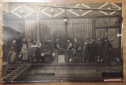 Carte Postale Photos Colombes Duvau Brasseur Ou Vin 1906 - Colombes