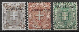 Eritrea Mh *  12 Euros - Eritrea