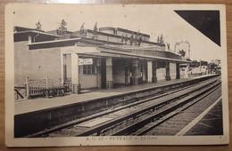 Carte Postale Puteaux La Gare (quai) - Puteaux