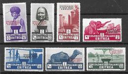 Eritrea Mh * 80 Euros 1934 - Eritrea