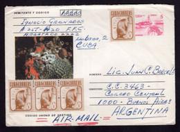Cuba - Lettre - 1981 - Envoyé En Argentina - Par Avion - A1RR2 - Cartas