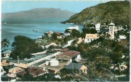Guadeloupe 1969; Saint-Terres-de-Haut. Le Mouillage. Au Fond, La Soufrière - Voyagé. (P. Candalen) - Basse Terre