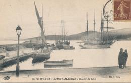 83 - SAINTE MAXIME - Coucher De Soleil   ***Pas Courante*** - Sainte-Maxime