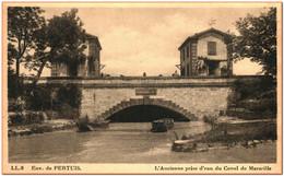 84 - Environs De PERTUIS - L'Ancienne Prise D'eau Du Canal De Marseille - Pertuis