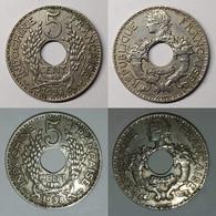French Indo-China 5 Cents KM# 18 1938(a) Indochina ProtectoratesTonkin, Annam, Cochin China And Cambodia - Vietnam