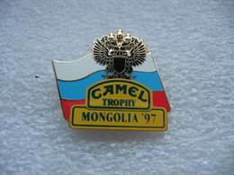 Pin's Camel Trophy En Mongolie En 97 - Rallye