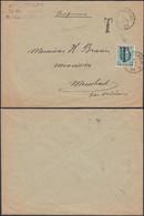 Belgique 1923 - LettreImrpimé A/timbre 194 Surchargé T De Welkenraedt Vers Membach  ..... (DD) DC-9787 - 1922-1927 Houyoux