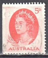 Australia 1963-65 - QEII - Mi.330Dx From Booklet - Used - Used Stamps