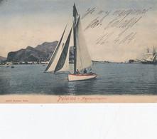PALERMO-MONTEPELLEGRINO-CARTOLINA VIAGGIATA IL 16-4-1904 - Palermo
