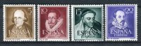 España 1950-53. Edifil 1071-74 ** MNH. - 1931-50 Ongebruikt