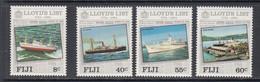 1984 Fiji Lloyds List Ships Harbours JOINT ISSUE  Complete Set Of 4 MNH - Fidji (1970-...)