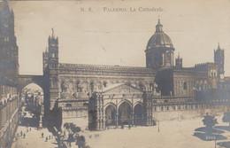 PALERMO-CATTEDRALE-CARTOLINA VERA FOTOGRAFIA-VIAGGIATA IL 10-6-1911 - Palermo