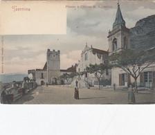 TAORMINA-MESSINA-TRAFFICO DEL PORTO-CARTOLINA NON VIAGGIATA-1900-1904 - Messina