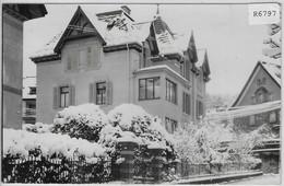 Luzern - Seeburg - Rosenheim & Gardenia (London Polytechnic) Im Winter En Hiver - LU Lucerne