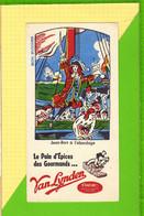 Buvard & Blotter Paper : Pain D'Epices Des Gourmands VAN LYNDEN JEAN BART A L'abordage - Gingerbread