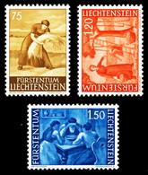 LIECHTENSTEIN 1960 Nr 395-397 Postfrisch SA1CDA2 - Nuevos