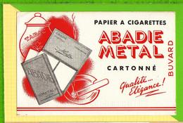 Buvard & Blotter Paper : Papiers A Cigarettes ABADIE METAL Cartonné - Tobacco