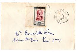 1966--Lettre De VILLY EN AUXOIS-21 Pour PARIS 2° --tp Sylvestre II --Beau Cachet Hexagonal - 1961-....