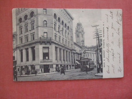 Nathans Store Trolley  On Main & Market Street  Paterson  New Jersey Ref 4561 - Unclassified