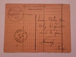 Carte Postale Ww2 Nomexy 1940 - 1939-45