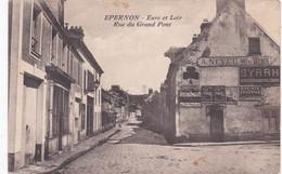 QK - EPERNON - Rue Du Grand Pont - 1929 - Epernon
