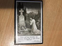 Augustin Thiry Epoux Duchesne Alice *1890 Enines +1922 Jauche Image Mortuaire - Décès