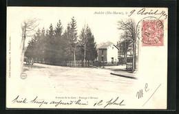 CPA Andelot, Avenue De La Gare, Passage à Niveau - Non Classés