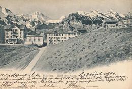 Mürren - Hôtel Des Alpes + 1904 - BE Berne