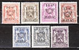 PRE560/66**  Petit Sceau De L'Etat - Année 1947 - Série Complète - MNH** - LOOK!!!! - Typo Precancels 1936-51 (Small Seal Of The State)