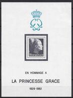 Monaco 1983 Yvert Bloc 24 ** Princesse Grace - Blocks & Sheetlets