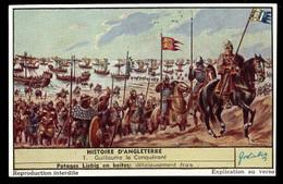 CHROMOS CHROMO LIEBIG - HISTOIRE D'ANGLETERRE N°1 GUILLAUME LE CONQUERANT - Liebig