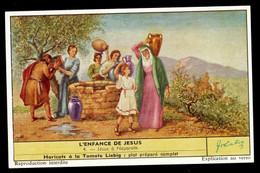 CHROMOS CHROMO LIEBIG - L'ENFANCE DE JESUS N°4 JESUS A NAZARETH - Liebig