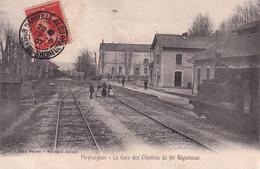 """MEYRARGUES """" TOP CARTE , Chemins De Fer Regionnaux RARE """"       N°7242 - Meyrargues"""