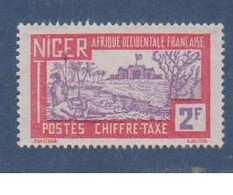 NIGER  N°  YVERT  :    TAXE  20 NEUF AVEC  CHARNIERES      ( Ch  2 / 44 ) - Nuovi