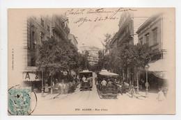 - CPA ALGER (Algérie) - Rue D'Isly 1904 (belle Animation) - - Algeri
