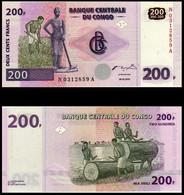 CONGO - 95 - 200f (200 Francs) - 2007 - Sin Clasificación