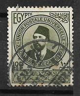 Egypte N° 165  Oblitéré    B/ TB      Soldé   Le Moins Cher Du Site   ! ! ! - Used Stamps