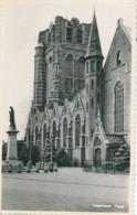 Oosterhout; Toren Sint-Jansbasiliek Met Heilig Hartbeeld (processie???) - Niet Gelopen. (S.A. Vermeijs - Oosterhout) - Oosterhout