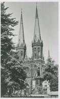 Tilburg 1959; Heuvelse Kerk Met Standbeeld Willem II - Gelopen. (Spanjersberg - Rotterdam) - Tilburg