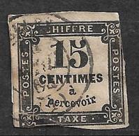 France Taxe  N° 3   Oblitéré   AB/ B      Soldé   Le Moins Cher Du Site   ! ! ! - 1859-1955 Usati