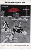 LE. BLOCUS  DE  LA. MER  DU. NORD  - JOHN  BULL  VEUX-TU  UNE. BOUÉE . . .  !  CPA.  ( 20 / 12 / 361. ) - Humor