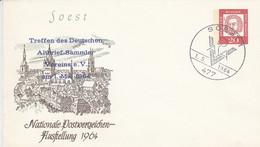 PU  31/1  Soest - Nationale Postwertzeichen-Ausstellung 1964, Soest 1 - Treffen Des Deutschen Altbrief-Sammler Vereine - Sobres Privados - Usados