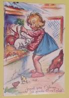 CP Carte Postale - HUMOUR - Dessin Germaine Bouret Humoristique - Poule Poussin Lapin - Années 1990 - Humor