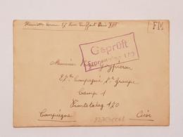 Lettre De Prisonnier De Guerre Frontstalag 170 Compiègne 1940 - 1939-45