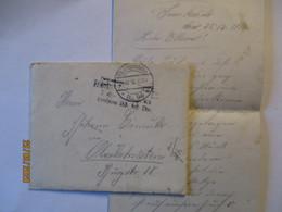 Frankreich Abschnitt Loclont-Seuzey Feldpost 183. ID 1916 Mit Text (11176) - Guerre 1914-18