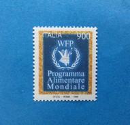 1998 ITALIA FRANCOBOLLO NUOVO STAMP NEW MNH** PROGRAMMA ALIMENTARE MONDIALE PAM - 1991-00: Mint/hinged