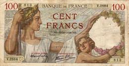 """Billet  100 Francs  """"Sully """"   ND.12=10=1939.ND.  FRANCE  V.2884 - 100 F 1939-1942 ''Sully''"""