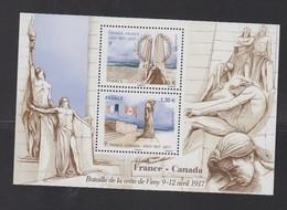 2017-N°F5136** FRANCE-CANADA.BATAILLE DE VIMY - Nuevos